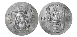 Queen Clotilde Coins