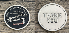 Recognition Award Custom Challenge Coins