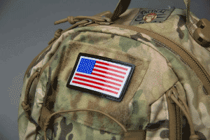 Flag PVC Patch
