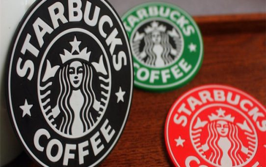 Starbucks PVC coaster