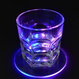 LED Glass Coaster