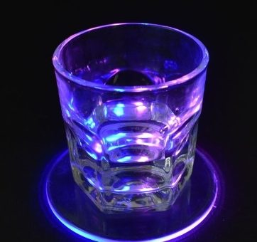 LED Glass Coaster