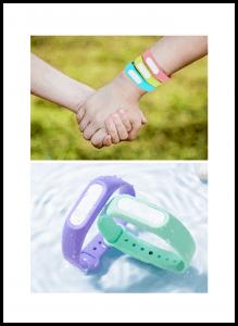Anti-mosquito Parent-Child Wristbands