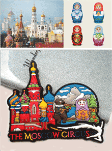 Russia PVC Magnet