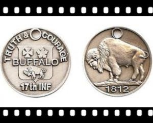 17th Infantry Military Coins