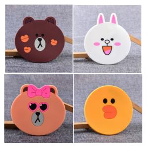 GS-JJ Line Friends PVC Coasters
