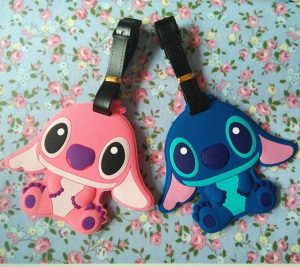 Couple PVC luggage tags