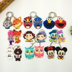Couple PVC Keychain