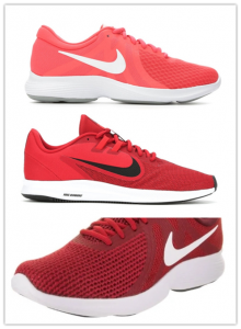 More colors of running shoes can be provided.