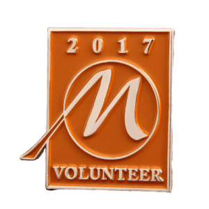 Volunteer Souvenir Pin