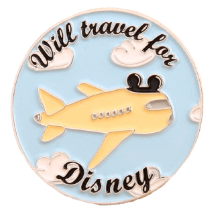 Disney travel pin