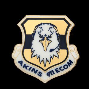 Custom Enamel School Badge Pins