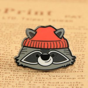 Raccoon Custom Lapel Pins