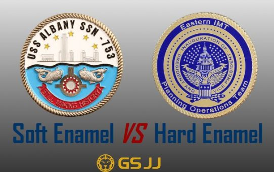 Difference Between Soft Enamel and Hard Enamel Challenge Coins
