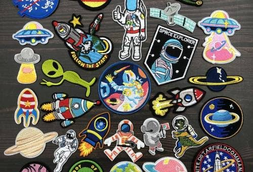 Space and Universe Embroidery Patches