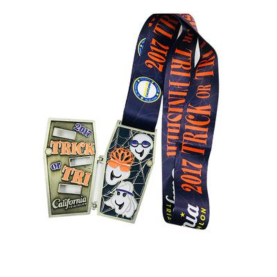 california triathlon flip medal